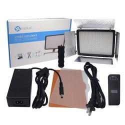 Mcoplus LED-520A LED Light 528PCS LED Lamp 3200K-5500 Color Temperature 3500LM Video Light for DSLR Canon Nikon Sony With Remote
