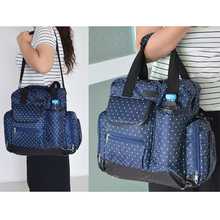 Functional Dots Backpack For Mummy Maternity