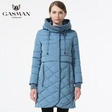 2017 Women's Hooded Warm Down Parka Female Overcoat Medium Length Slim Bio Down Thickening Down Jacket Brand Female Coat