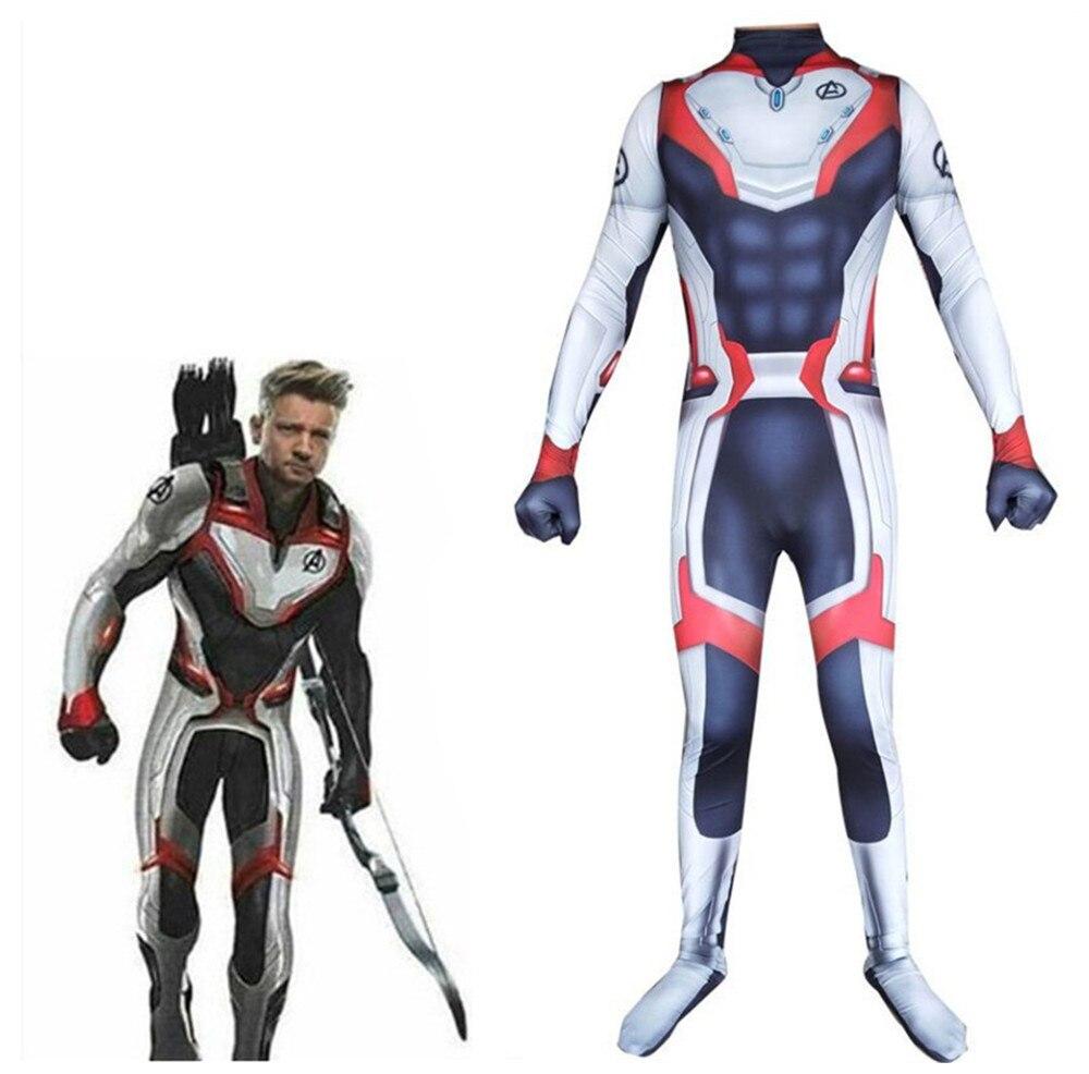 Avengers Endgame Quantum Rijk Cosplay Kostuum Superhero 3d Print Kids Adult Captain Marvel Zentai Bodysuit Pak Jumpsuits Wees Onthouden In Geldzaken