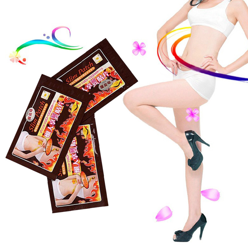 FREE SHIPPING 30PCS/Lot Slimming Navel Stick Slim Patch Weight Loss Burning Fat Patch