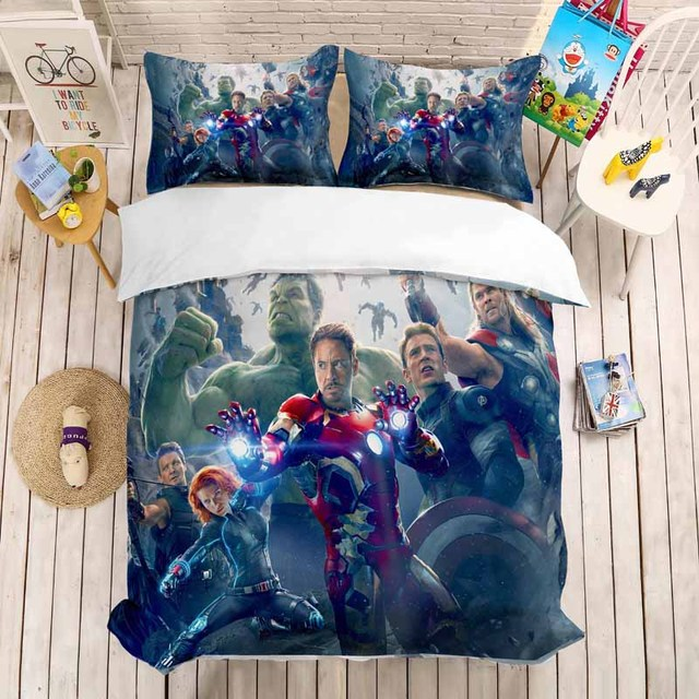 The Avenger Bed Set Duvet Covers (NO sheet) 17