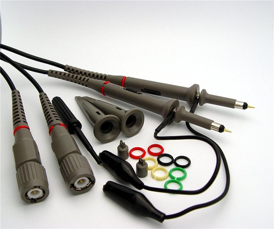 Hantek PP-200 Digital Oscilloscope Probe 200Mhz Bandwidth X1 X10 for Automotive USB PC Osciloscopio Portatil Diagnostic-tool jtron ds0201 ds203 miniatures oscilloscope probe