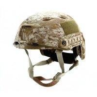 Emerson Airsoft FAST helmet Base Jump Helmet (Seals plate Highlander ATFG Mandrake Marpat Desert AT) em5659c