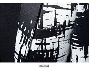 Image 5 - PYJTRL מותג M 5XL גאות גברים דיו סגנון Hit צבע אופנה פנאי חליפת מעיל בלייזר עיצובים Masculino Slim Fit תלבושות Homme