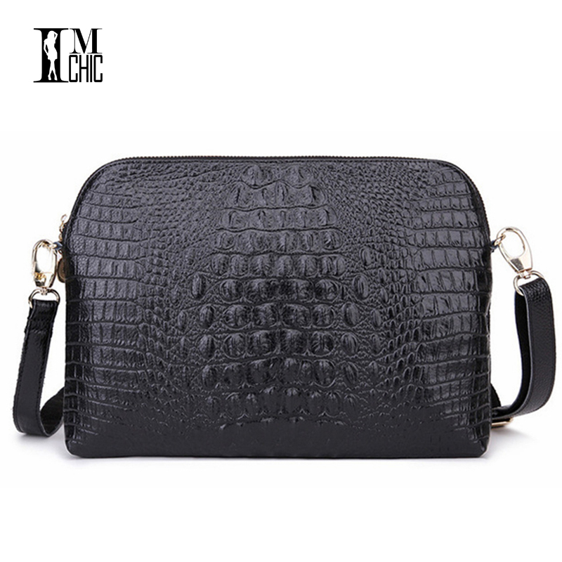 01535fc6d216 Detail Feedback Questions about High Quality Split Leather Women Shoulder  Bags Envelope Evening Party Handbag Large Clutch Vintage Crocodile Lux Sexy  2168 ...