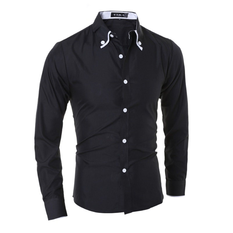Popular Cufflink Shirts for Men Slim Fit-Buy Cheap Cufflink Shirts ...