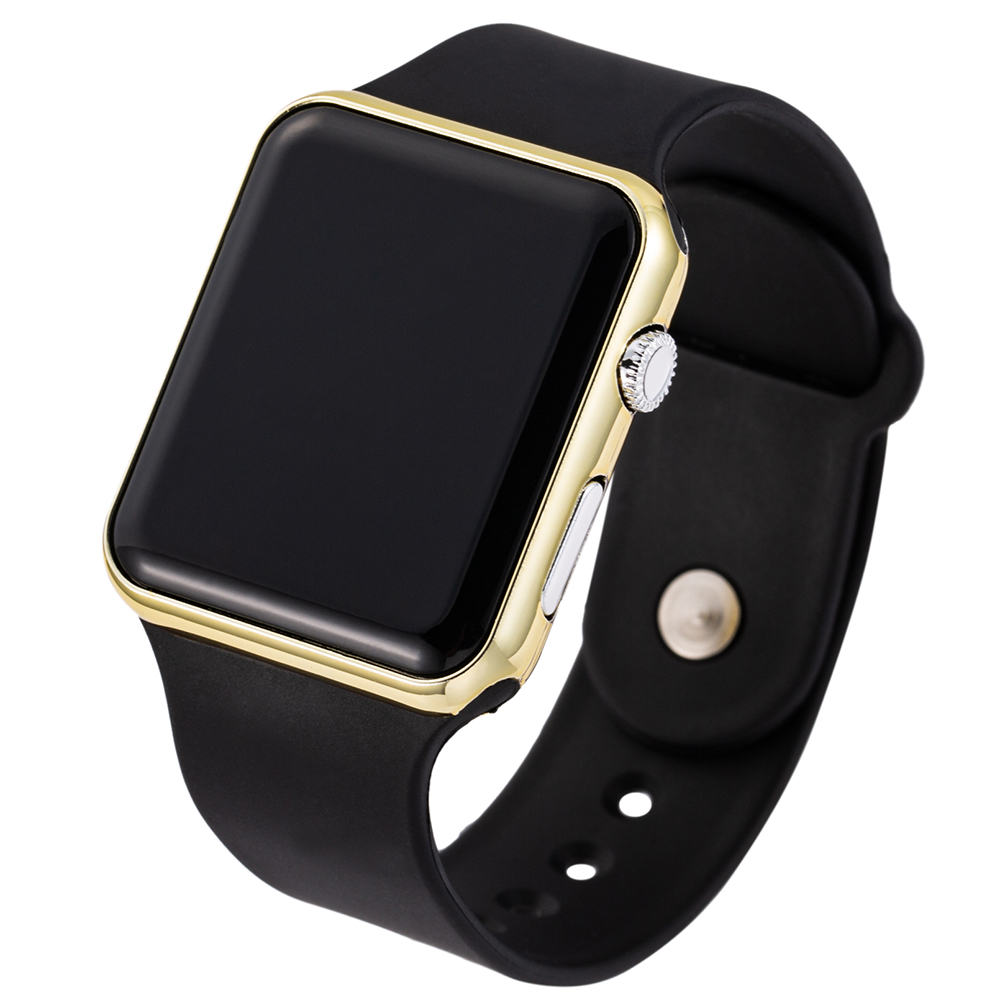 Women Men Digital Watches Blac...