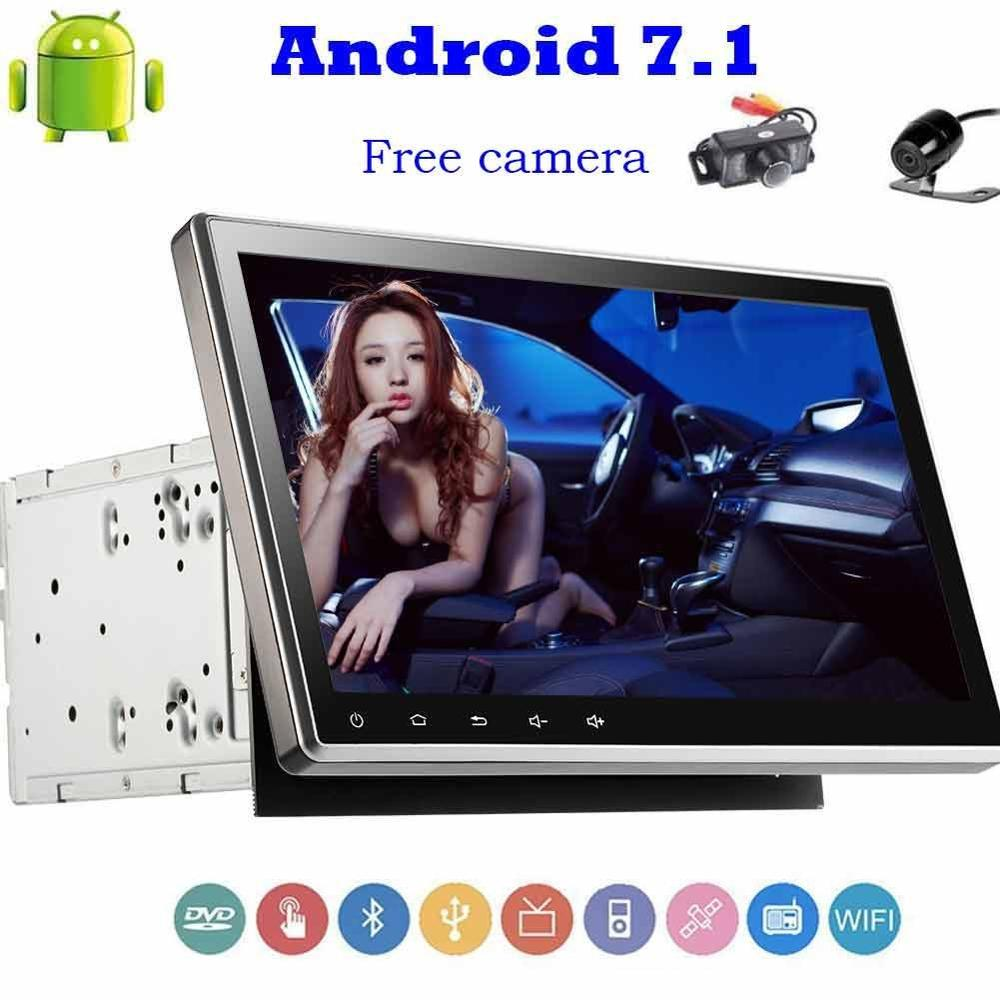 Front And Back Camera+New Android Car Stereo 7.1 Bluetooth