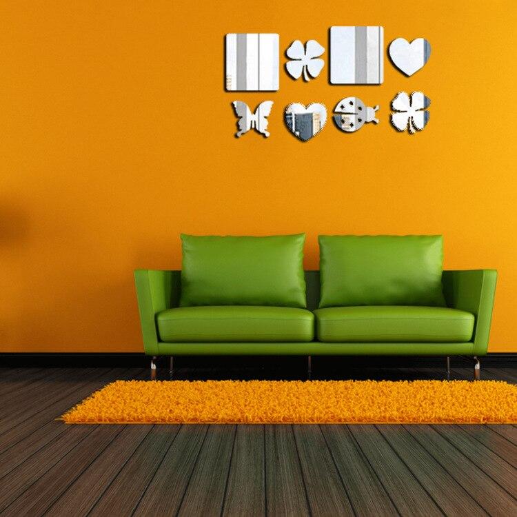 flores del corazn del melocotn patrn de pegatinas de pared dormitorio saln comedor sala de nios