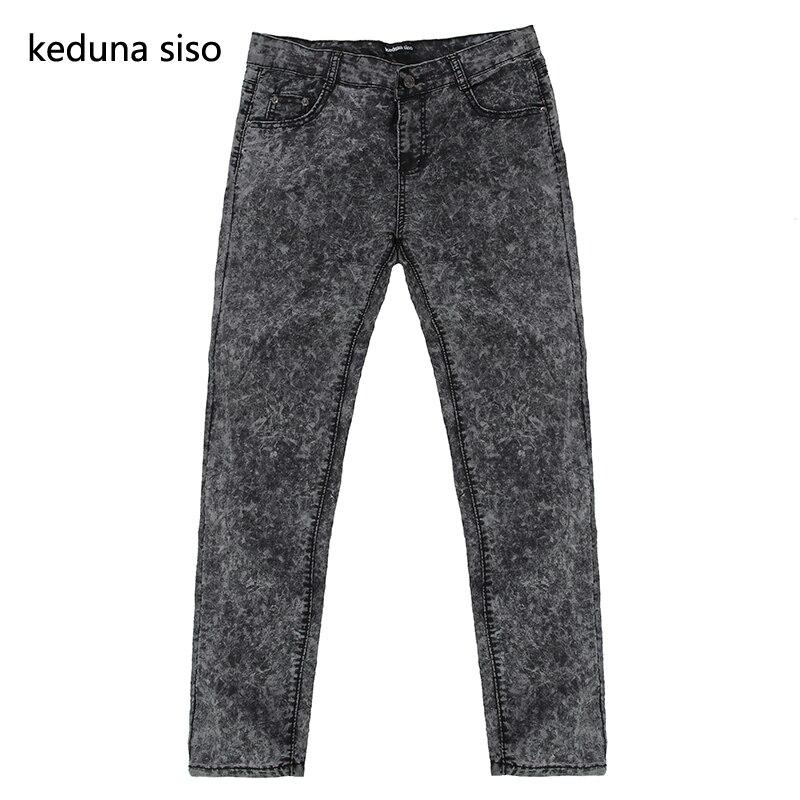 2018 Fashion Pencil Pants Skinny Men Designer   Jeans   Black Gray Denim   Jeans   For Men male homme Mens   jeans   masculino