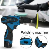 Car Accessories Electric Car Polisher Machine Polishing Pad Auto Polishing Machine Adjustable Speed Sanding Waxing Tools