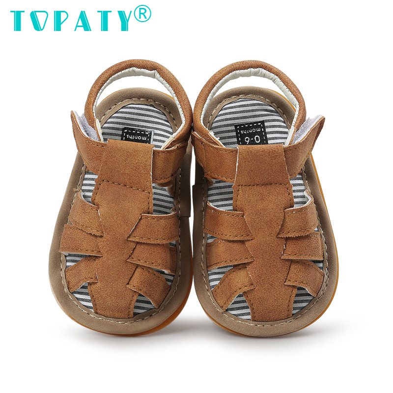 High Quality Baby Shoes For Summer Brand New Baby Boys Soft Soled Toddler Shoes Infnat First Walkers Moccasins Bebe Sapatos