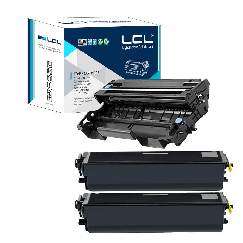ФОТО LCL TN570 TN540 DR510 (3-Pack Black) Toner Cartridge Compatible for Brother HL-5140/5150D/5170DN/4750e/5750e/MFC-8220/8420