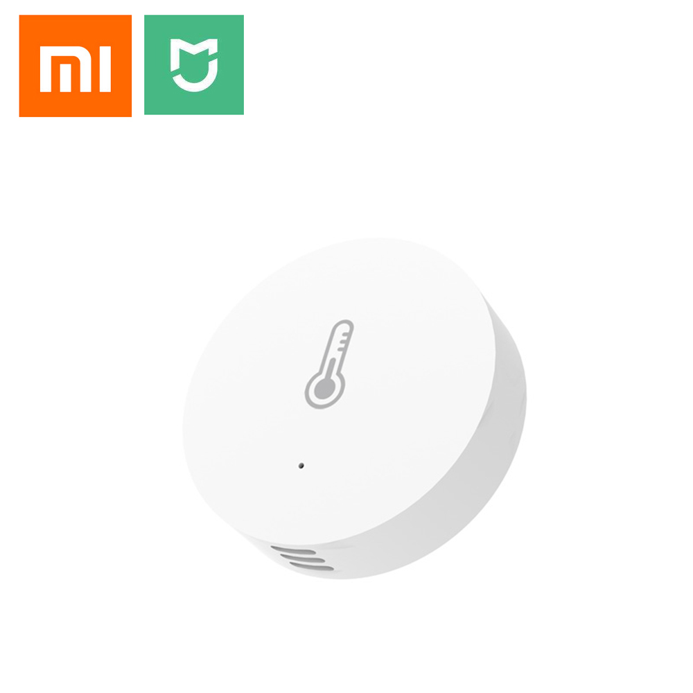 New Xiaomi Mi Smart Temperature and Humidity Sensor Put the baby Home office Work With Android IOS Mi home APP датчик xiaomi mi smart home temperature humidity sensor