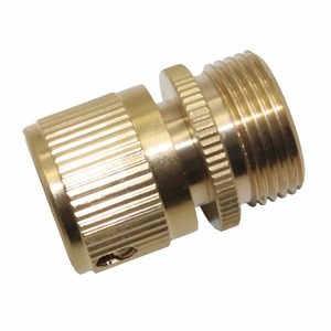 Image 5 - 3/4 punti pistola ad acqua in rame attacco rapido tubo autolavaggio acqua collegare