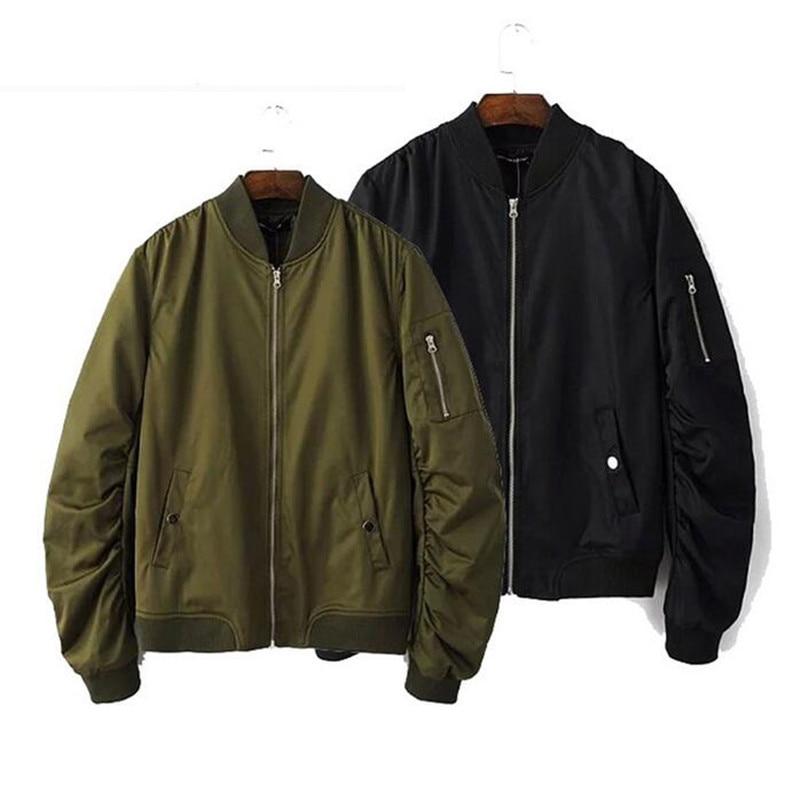 Popular Military Bomber Jacket Hip Hop-Buy Cheap Military Bomber ...