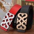 Women belt 2016 fashion wide belts female women 100% Full Grain genuine leather belt brand famous belt for women free shipping