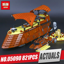 LEPIN 05090 The Jabba's Sail Barge Model Building Blocks Set Brick Kit Compatible 6210 Educational Classic Toy For Boy Children