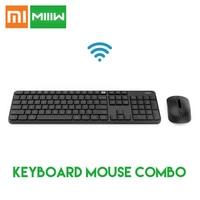 Original Xiaomi MIIIW 2.4GHz Wireless Keyboard Mouse Combo for Windows MAC Office