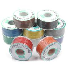 цена на 30AWG Wrapping Wire OK wire UL1423 electronic wire tinned copper wire circuit board flying line Jumper wire PCB Solder XF30