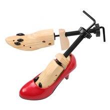1 Piece Shoe Stretcher Wooden Shoes Tree Shaper Rack Wood Adjustable Flats Pumps Boots Expander Trees Size S/M/L Man Women