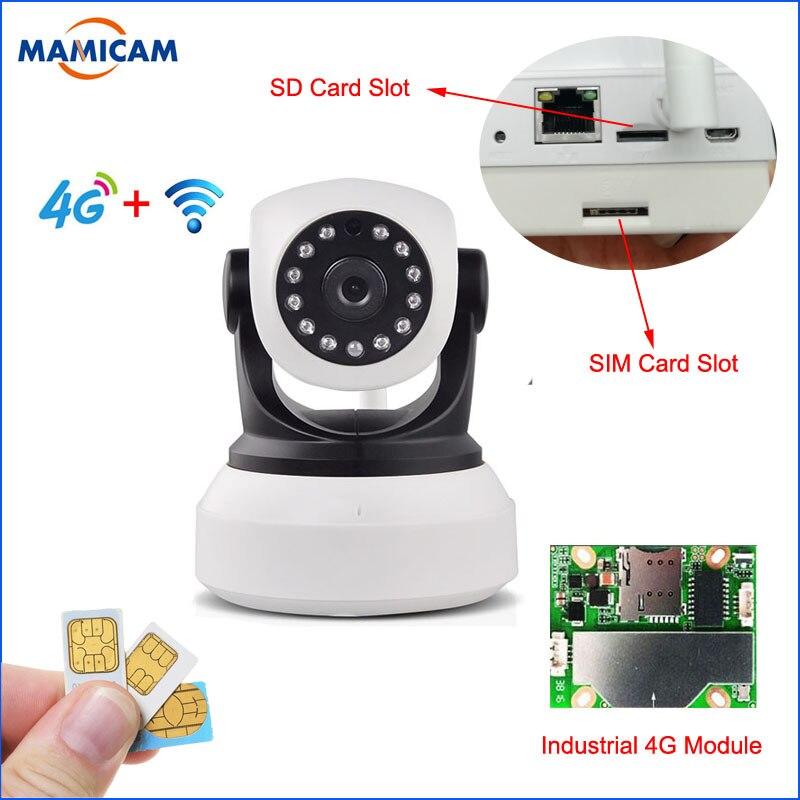 1080P 960P HD 3G 4G SIM Card IP Camera Wireless Cam PTZ Pan Tilt font b