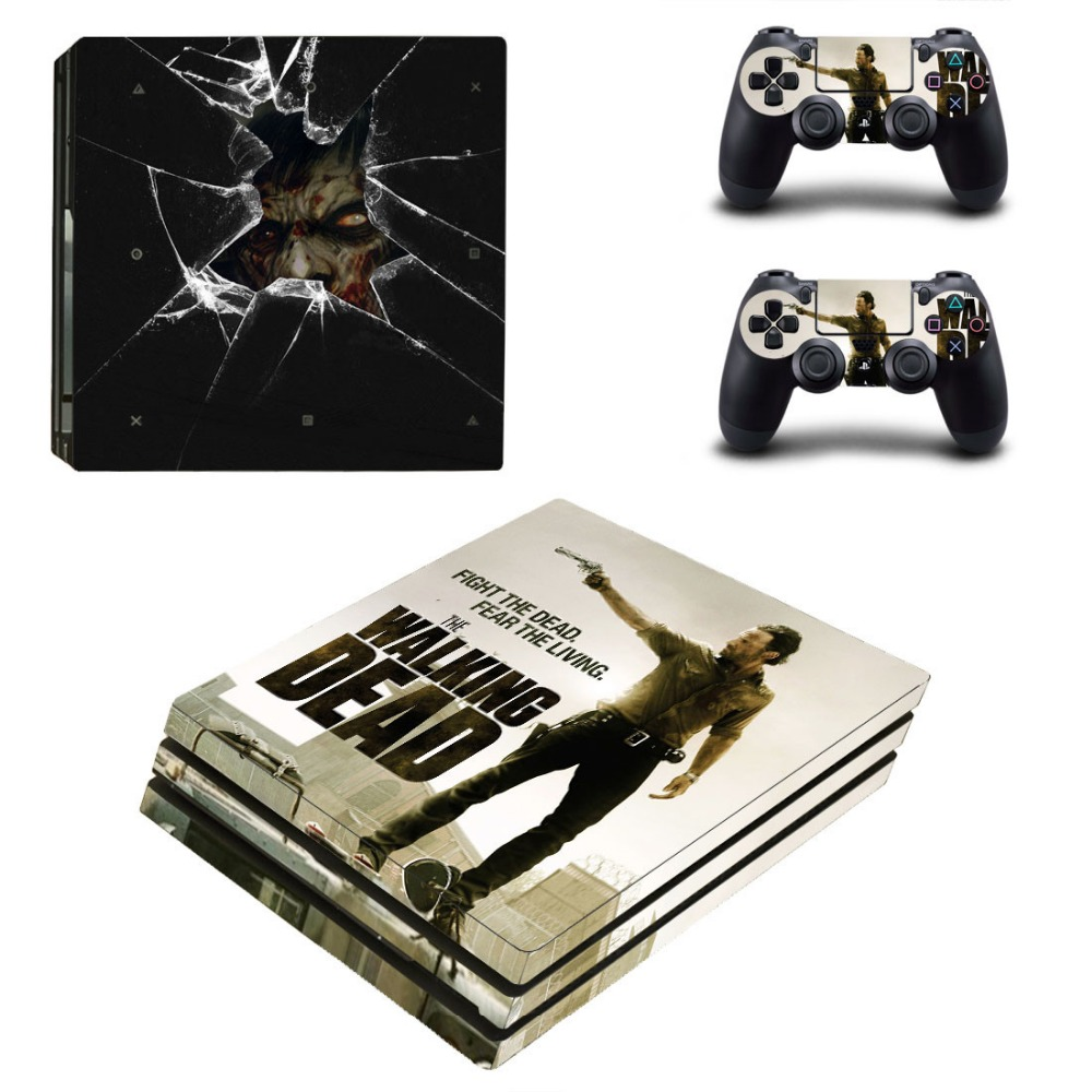 Stickers For Playstation 4 PS4 PRO Console & Controller Protector Skin Vinyl Decals PS4 PRO Skins Hot Game Sticker
