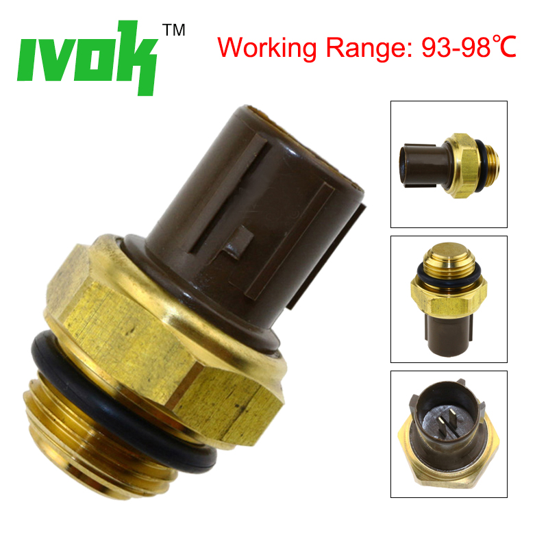 New Radiator Coolant Fan Temperature Sensor Switch 37760-P00-003 For Honda Accord Civic Acura CR-V S2000 1.3 1.7 2.0 2.4 3.0New Radiator Coolant Fan Temperature Sensor Switch 37760-P00-003 For Honda Accord Civic Acura CR-V S2000 1.3 1.7 2.0 2.4 3.0