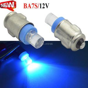 2 шт. белый BA7S 12VDC светодиодный датчик приборной панели предупреждающий индикатор переключатель лампы классический автомобиль GLB281 LLB281 белый зеленый синий красный желтый