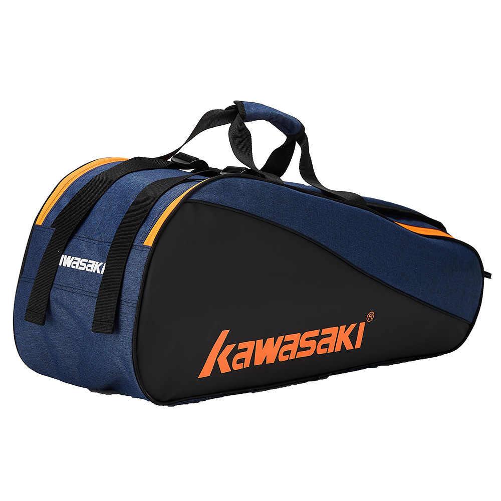 2019 Kawasaki serie Honor bádminton bolsa de gran capacidad raqueta bolsa de deporte para 6 raquetas de bádminton con dos hombros KBB-8641