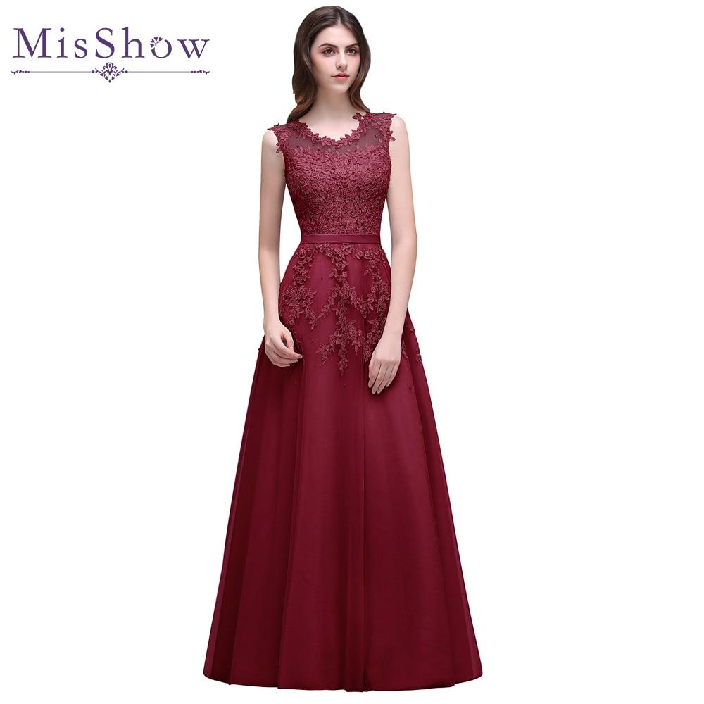 vestido de festa longo corto Lace Formal   Evening     Dress   robe de soiree longue 2019 Beading Applique   Evening   Party Gown Prom   Dress