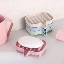 Слив ванной мыльница с желобками для слива воды коробка для хранения кухня ванна губка для хранения чашки стойки мыло держатель Слива набор M18