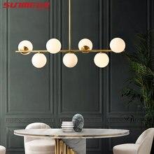 Современные светодиодный ные люстры декоративный шар в стиле