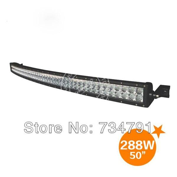 120 W Arc shaped LED Car Work light,LED Front Bumper neon
