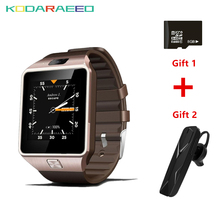 QW09 Smartwatch Relógio Inteligente Android Bluetooth Atualização Do Telefone Móvel Wifi 3G Cartão Sim + Livre X6 fone de Ouvido Bluetooth + livre 8 GB TF Cartão