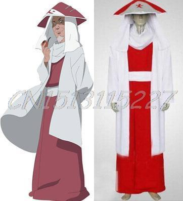 2015 new free shipping Naruto Sarutobi 3rd Hokage Cosplay Boys White and  Red Costume halloween costumes new arrived-in Anime Costumes from Novelty &  Special ...
