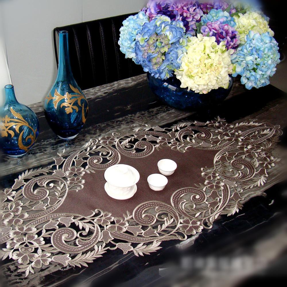 Garden High Grade Embroidered Tablecloths Coffee Table