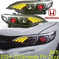 Fit Jazz headlight,2009~2016,Free ship! Fit Jazz head light,crosstour,Vezel,City,CRX,CR Z,Element,EV Plus,insight,MDX,jazz