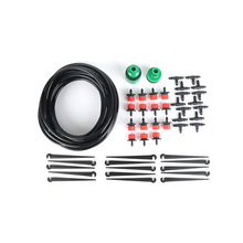 New 10m Adjustable Dripper Plant Self Watering Kits 15pcs Nozzle Irrigation System Micro Drip Plant Self Automatic Watering For