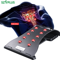 Magnetic Cervical spine stretcher Accuputure Neck Massage traction Pain Relief Stretcher Neck Fitness Stretch Medical ABS