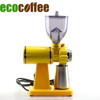 Ecocoffee DIY Household Electrical Coffee Bean Grinder 250G Capacity Food Mill 220V 50Hz Stocked Stainless Steel