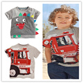 2016 Bobo Choses Nuevo Diseño 100% Algodón de la Marca Bebé Niños Ropa Para Niños Ropa Corta Camisetas Camisetas Del Verano de Los Muchachos 18 M ~ 6 T