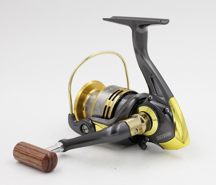 10+1BB Cheap Spinning Reels 1000 2000 3000 4000 5000 6000 7000 Best Saltwater Beach Boat Rock Sea Lure Ice Spinning Fishing Reel  (13)