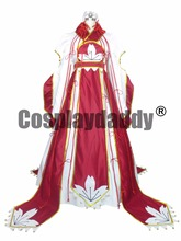 Tsubasa Reservoir Chronicle Cosplay Sakura Red Dress Costume H008(China)
