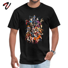 Black Tops T Shirt Femme Fatale Hellboy Sleeve All Street Wear Men's Top T-shirts Custom T Shirt Popular femme fatale
