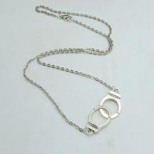 Handcuffs choker pendant necklace Women/Girl lover