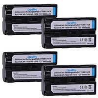 DuraPro 4pc NP-F550 NP-F570 NP F550 F570 2600mAH Rechargeable Li-ion battery for Sony CCD-SC55 CCD-TRV81 DCR-TRV210 MVC-FD81