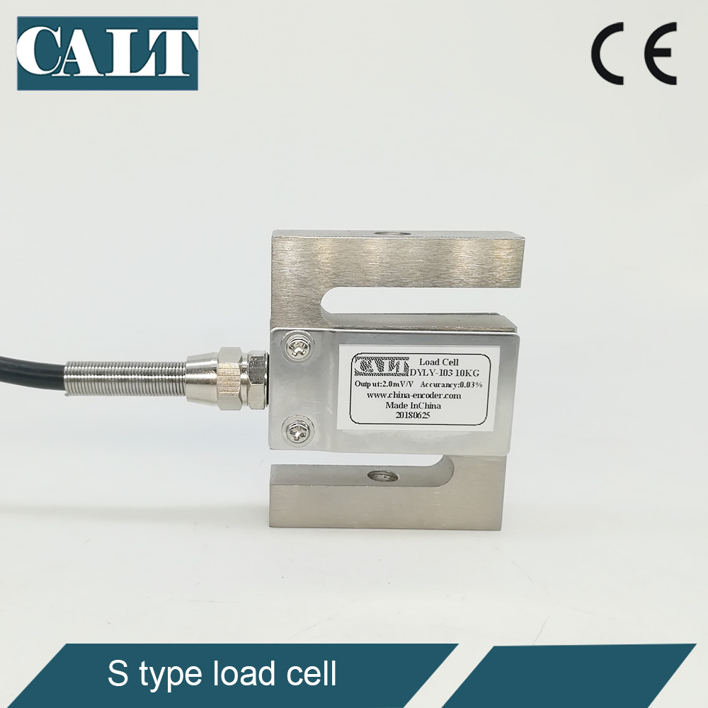 CALT S type load cell 1 Tons 2 Tons 5 Tons Pull and Push Force Measuring