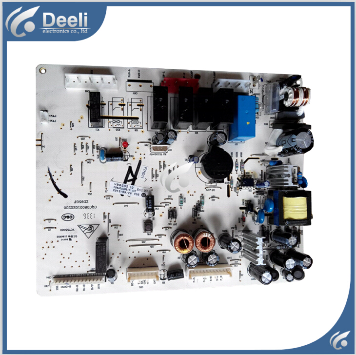 все цены на 95% new Original good working refrigerator pc board motherboard for haier BCD-539WS,BCD-539WH 0064000891d on sale онлайн